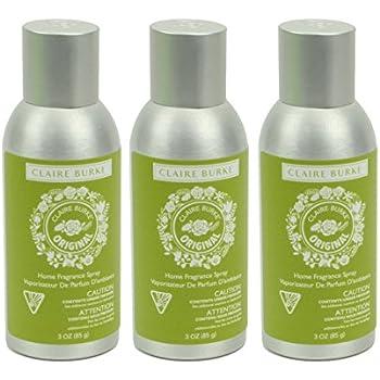 Claire Burke Original Home Fragrance Spray, 3 Ounces - Pack of 3