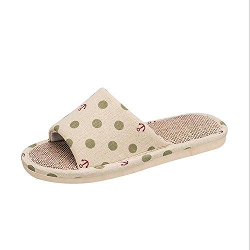 B Point De 38 Chaussures Design Des Ménage Pantoufle 39 Wave Pantoufle Tongs C Décoration SHANGXIAN Confortable Sandales fUROpqx