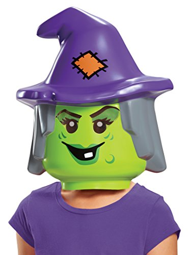 Disguise Lego Witch Mask, One Size]()