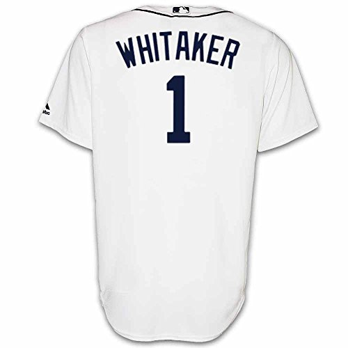 (Sparky Anderson Detroit Tigers Home Replica Jersey by Majestic, White, XL)