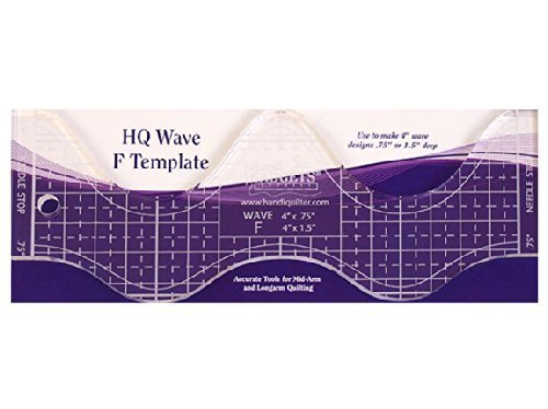 Handi Quilter Wave F Template by Handi Quilter, Inc