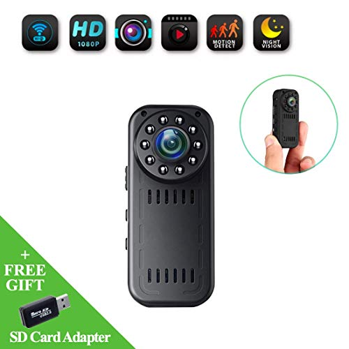 WEMLB Hidden Camera 1080P HD Wireless Camera Mini WiFi Camera Spy Camera for iPhone/Android/iPad Remote View with Motion Detection and Night Vision (2019 Update Version) Review