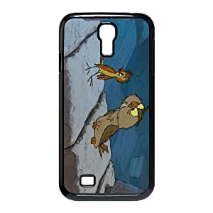 Samsung Galaxy S4 9500 Cell Phone Case Black The Sword in the Stone Character Archimedes H3698024