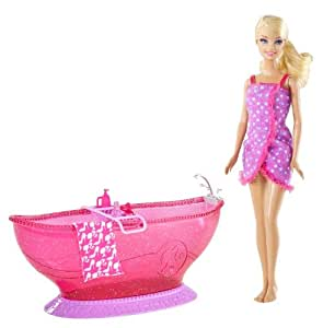 barbie bathroom games bath tub and doll playset toys amp 10078