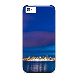 New Cute Funny Great Blue Sea Case Cover/ Iphone 5c Case Cover