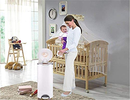 Diaper Pail Refill Bags (1020 Counts) Fully Compatible with Arm&Hammer Disposal System (One Item) by TESSES (Image #6)