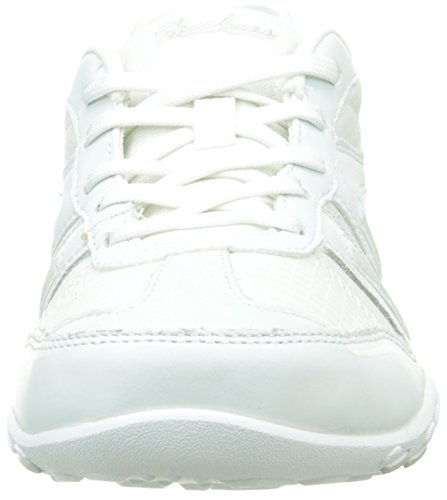 Sneaker Easy Sport White Fashion Jackpot Women's Breathe Skechers aHtYft