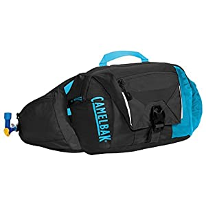 CamelBak 2016 Palos 4 LR Hydration Waist Pack, Black/Atomic Blue