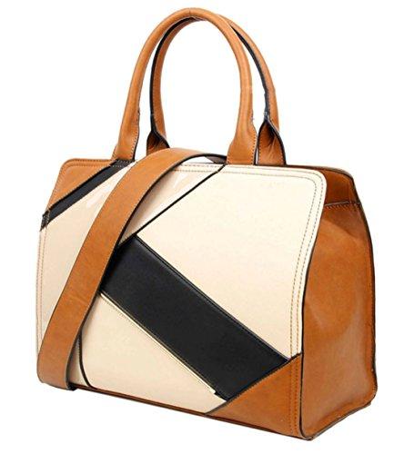 Material De Bolso Mujer Sintético Marrón Para Asas Handbags Girly PS4Ixq
