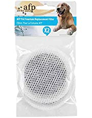 Replacement Filters x2 Fountain Fresh Pet Water Filter Pads Cartridges AFP