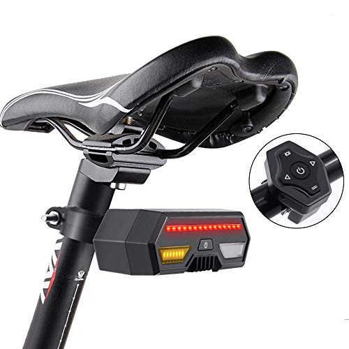 Thinkfly USB Bike Tail Lights, Smart Rechargeable Bicycle Turn Signal Lights with 85 Lumen LED & Remote Control, IPX4 Waterproof for Mountain, Road, and All Bikes Review
