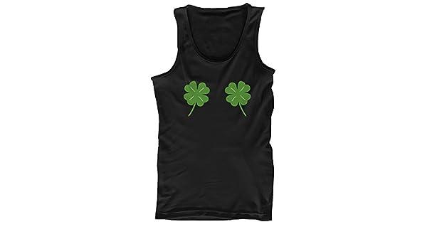 365 Printing Four Leaf Clovers - Camiseta de Tirantes para ...
