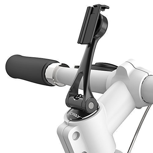MAXROCK [Stem Cap Bike Holder] (TM) 360 Rotation Universal Cycling Holders with Super Light 65g Aluminium Alloy Material Compatible for All Bike with Stem Cap