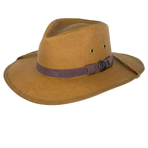 Outback Trading Kodiak Hat, Field Tan, Medium (Storm Waterproof Hat)