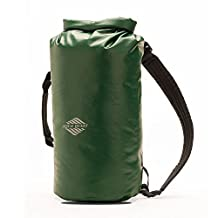 10L Waterproof Dry Bag Backpack - Aqua Quest Mariner 10 - Small Kayaking Boat Bag - Adjustable fit for Men, Women, Boys & Girls - Green