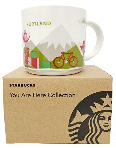 Starbucks Portland Oregon Coffee Mug You Are Here Collection 14 ()
