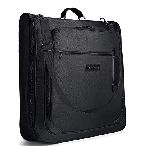 (Carry On Garment Bag, Hanging Suit Bag/Carrier Weekend Bag Travel Business Trip)