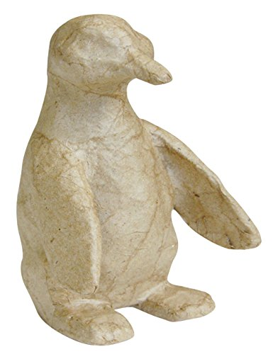 Decopatch AP117 Decoupage Papier Mache Animal Extra Small Penguin