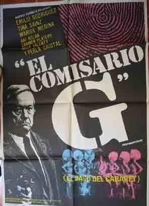 Poster Cartel de Cine: EL COMISARIO G El caso del Cabaret ...