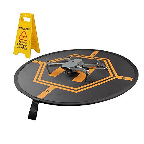 HiBloks-Foldable-Landing-Pad-Helipad-with-Warning-Sign-for-DJI-Mavic-Pro