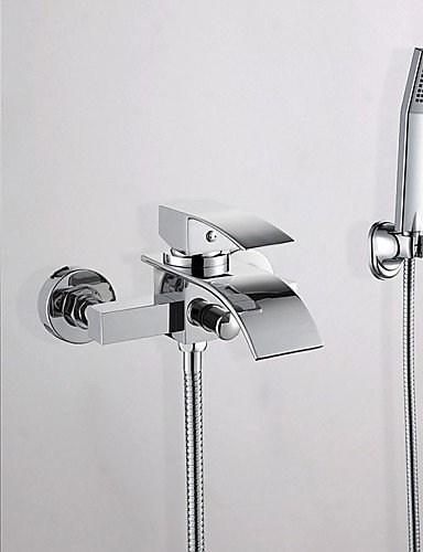 in wall waterfall faucet - 9