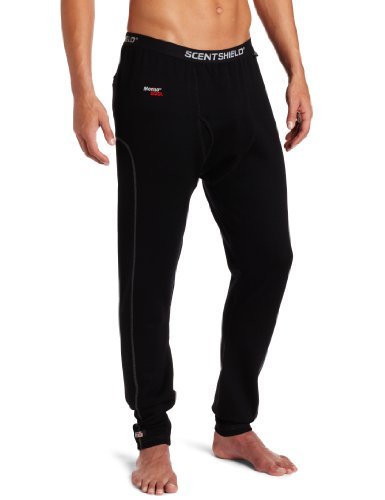 SCENT SHIELD Men's S3 Expedition Wt. Wool Pant, Black, Large