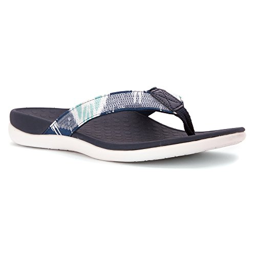 Orthaheel Orthotic Sandals Womens Vionic White Navy Sequins Tide by awrXaP