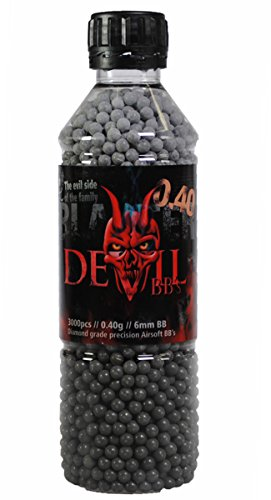Aftermath Blaster Devil 3000 Airsoft BBs - .40g by AfterMath