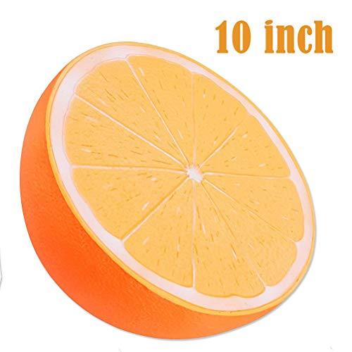 Bagvhandbagro Jumbo Orange Squishy, 10 Inch Jumbo Cream Scented Squishies Slow Rising Kids Toys Doll Stress Relief Toy Hop Props, Large Decorative Props by Bagvhandbagro