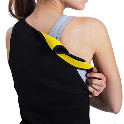 9bf4d85ac9 Slimming Body Shaper for Women Tummy Weight Loss Hot Thermo Neoprene Sweat  Sauna Vest No Zipper