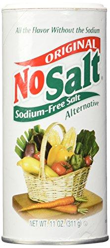 NoSalt Original Sodium-Free Salt Alternative 11 Ounce (Pack of 2) by Nosalt