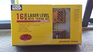 "Tool Shop 16"" Laser Level with Tripod Set"