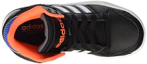 adidas Bb9tis K, Zapatillas de Deporte Exterior Unisex Bebé Negro / Blanco / Plata (Negbas / Ftwbla / Plomo)