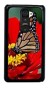 Butterfly Design Hard Case for LG Optimus G2 D800/D801