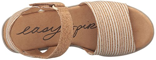 Easy Spirit Dames Kala5 Sleehak Sandaal Wit Multi / Naturel Ck