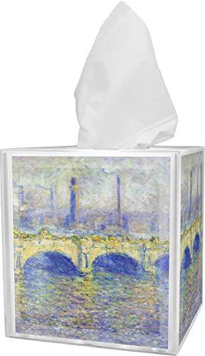 - RNK Shops Waterloo Bridge by Claude Monet Tissue Box Cover