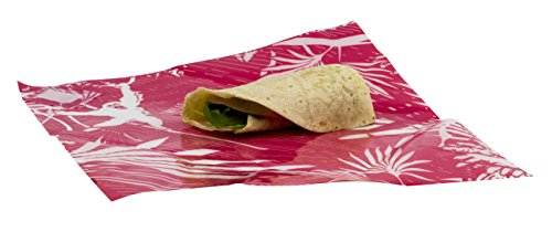 [WRAPEAT REUSABLE FOOD WRAP PACK-X3 MULTIPACK. SMALL SUB & TORTILLA WRAP SIZE. For lunch boxes, lunch bags, all food types.] (Reusable Wrap)