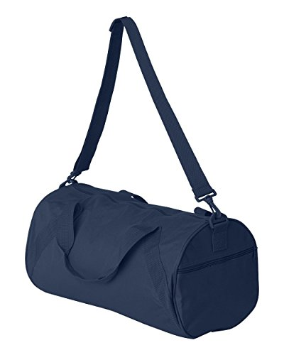 Recycled Small Duffle - NEW Liberty Bags Recycled Small LIGHT WEIGHT WORKOUT BALL Duffle Gym Bag NAVY