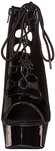 Black Pleaser Boot Black Black B Women's Del600 20 M OO8zBqg