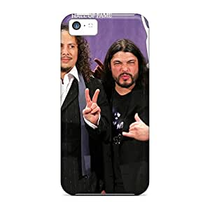 Protection Cases For Iphone 5c / Cases Covers For Iphone(metallica)