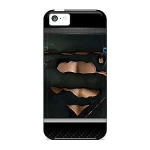 Waterdrop Snap-on Superman Lockscreen Case For Iphone 5c
