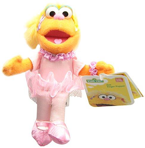 - Gund Sesame Street Zoe Finger Puppet Puppets 6