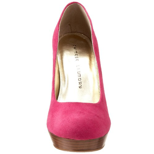 Chinese Laundry Keep Up Mujer Rosa Ante Tacones
