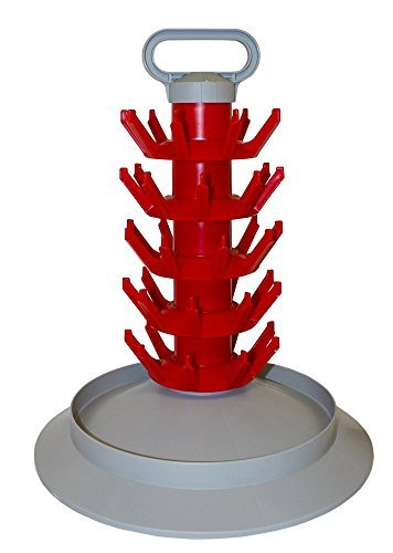 Plastic Bottle Top Collection - 45 Bottle Drying Tree- Econo