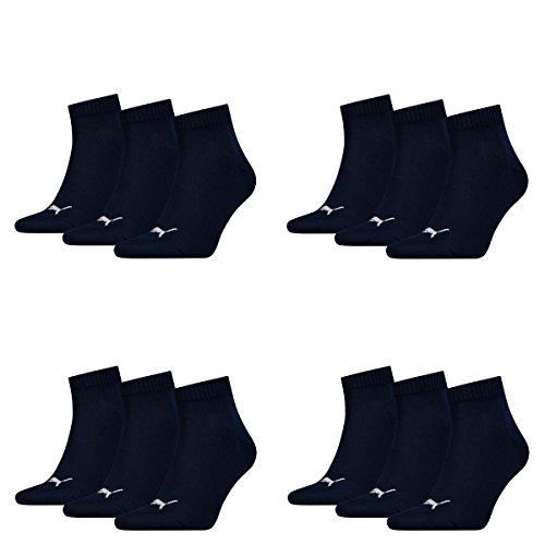 Pack 12er Sport Puma nbsp;chaussettes 12 Homme Navy Sportsocken 321 De Quarters 7xqWqO8g6