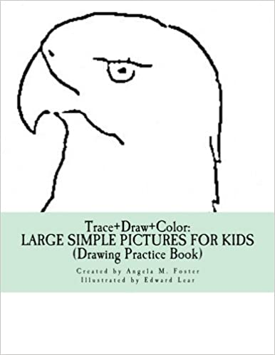 Buy Trace+draw+color: Large Simple Pictures for Kids ...