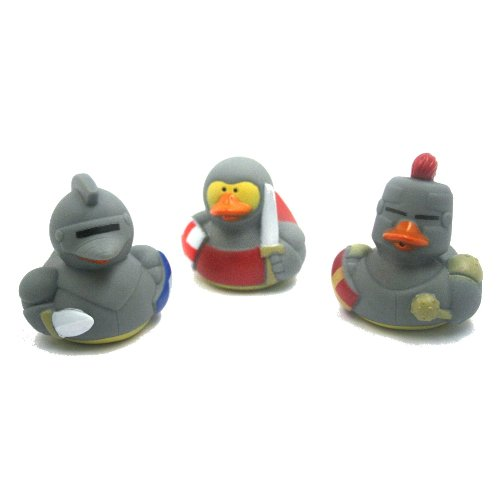 Fun Express Medieval Rubber Ducks (12 Count)](Duck Themed Party Supplies)