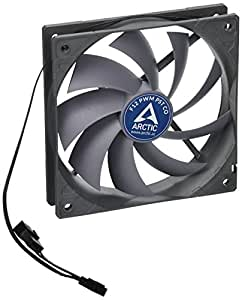 ARCTIC F12 PWM PST CO - 120 mm PWM PST Case Fan for Continuous Operation | Cooler with PST-Port (PWM Sharing Technology) | Regulates RPM in sync