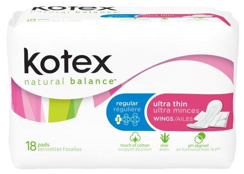 kotex-natural-balance-ultra-thin-regular-with-wings