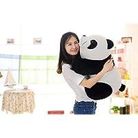 MSFI Kid's Mother Panda Stuffed Soft Plush Toys ( White & Black) 36 cm